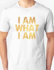 I am what I am lyric - John Barrowman (WHITE) Unisex T-Shirt