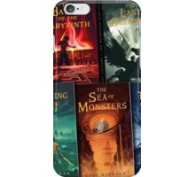Percy Jackson and the Olympians Books  iPhone Case/Skin