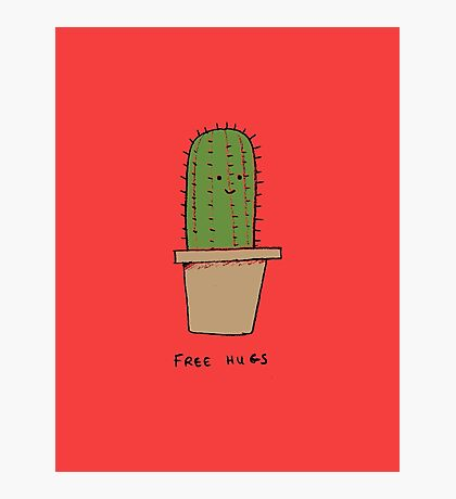 Free Hugs -- The Cactus Photographic Print