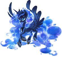 Princess Luna (transparent) by Dawnfire