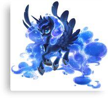 Princess Luna (transparent) Canvas Print