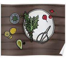 Eat your veg Poster