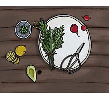 Eat your veg Photographic Print
