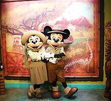 Minnie & Mickey Mouse - DAK by disneylandaily