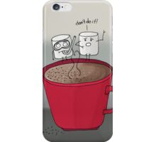 Marshmallow drama iPhone Case/Skin
