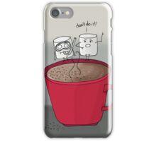 Marshmallow drama iPhone Case/Skin