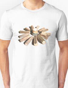 SYMBOLIC LANDSCAPE WITH ROCKS & LOGS T-Shirt