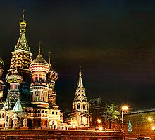 Cathedral of Basil the Blessed 2 by Gouzelka