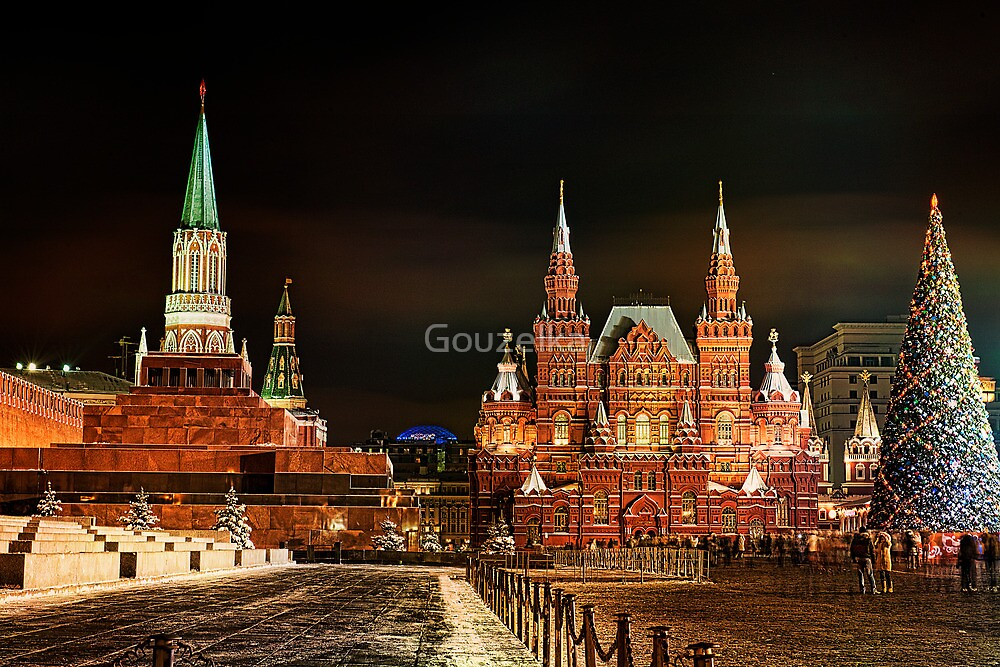 New Year in Red Square!  by Gouzelka