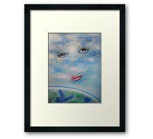 CLOUD EMPRESS Framed Print