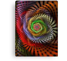 Ribbon Candy Flower Canvas Print