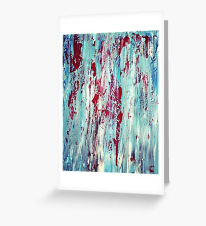 Skyline Streaks Greeting Card
