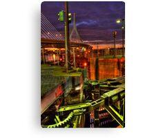 Bridge'n Machinery Canvas Print