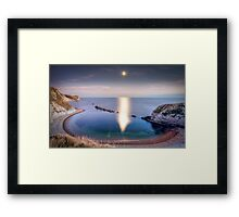 Man-O'War Cove, Dorset Framed Print