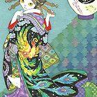 Phoenix Uchikake Kimono Kitty by BlissAndKittens