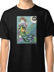 Phoenix Uchikake Kimono Kitty Classic T-Shirt