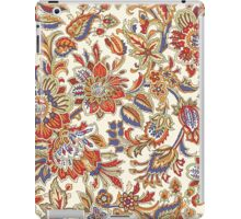 Vintage Abstract Floral Pattern iPad Case/Skin