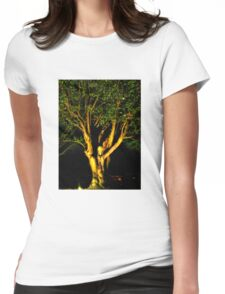 The Tree of Secrets Womens Fitted T-Shirt