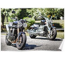 Triumph Twins or Triples Poster