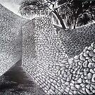 Exterior & Interior Walls of the Great Enclosure - Great Zimbabwe by kate conway