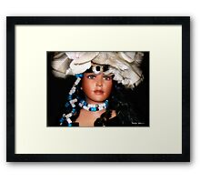 Native Beauty Framed Print