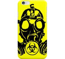 Gas Mask (cover version) iPhone Case/Skin