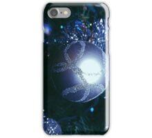Blue Christmas iPhone Case/Skin