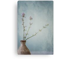 The Sweetness of Solitude and Tranquility Canvas Print