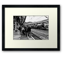 Train Spotting Framed Print