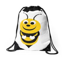 Bumble Bee Design Drawstring Bag