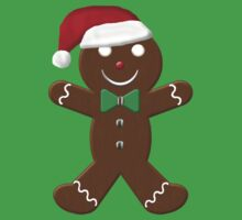 Gingerbread Man Kids Tee
