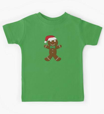 Gingerbread Man Kids Tee