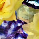 Composition With Ghosted Face, Flowers, Butterflies #2  March 3, 2010 by Ivana Redwine