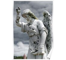 Grieving Angel Poster