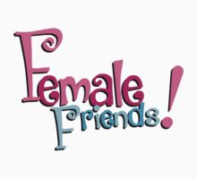 Female Friends - Plain by RoufXis