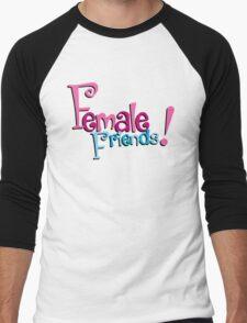 Female Friends - Plain Men's Baseball ¾ T-Shirt