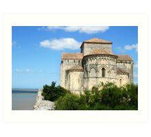 Talmont sur Gironde Art Print