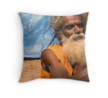Nara Simha. Sri Sailam Throw Pillow