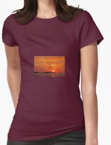 Seagull in sunset T-Shirt