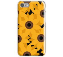 Sunflower Pattern iPhone Case/Skin