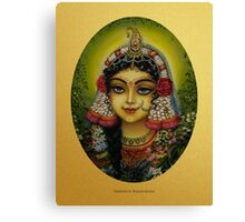 Shrimati Radharani Canvas Print