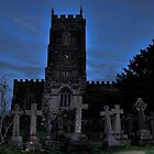 Gordano Church at Dusk by Alex Hardie