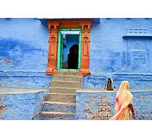 House. Jodhpur Photographic Print