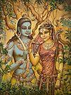 Sita and Rama by Vrindavan Das