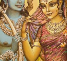 Sita and Rama Sticker