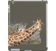 Stretch Your Head on My Shoulder iPad Case/Skin
