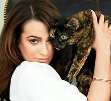 People Magazine Lea Michele by LoserLikeMaddy