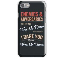 Tear Me Down Graphic iPhone Case/Skin