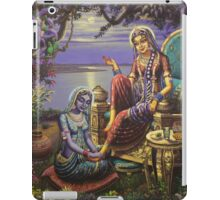 Krishna disguised as gopi iPad Case/Skin