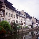 lovely waterways, Colmar, Alsace by BronReid